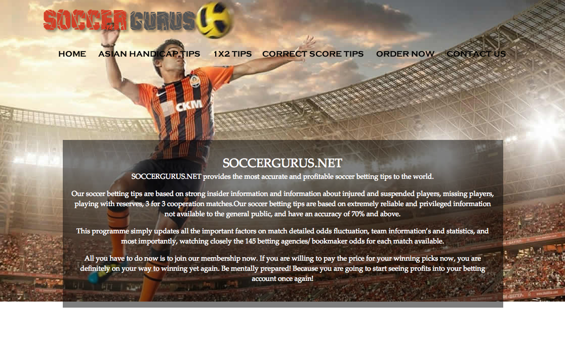 Betting-Advise com verified soccer tipsters